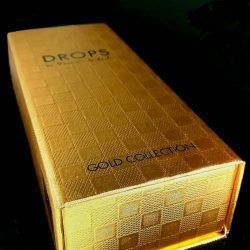 foto perfume drops gold colection